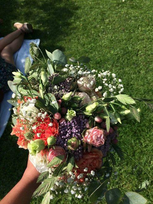 Fleurs pour thème rustique - 1