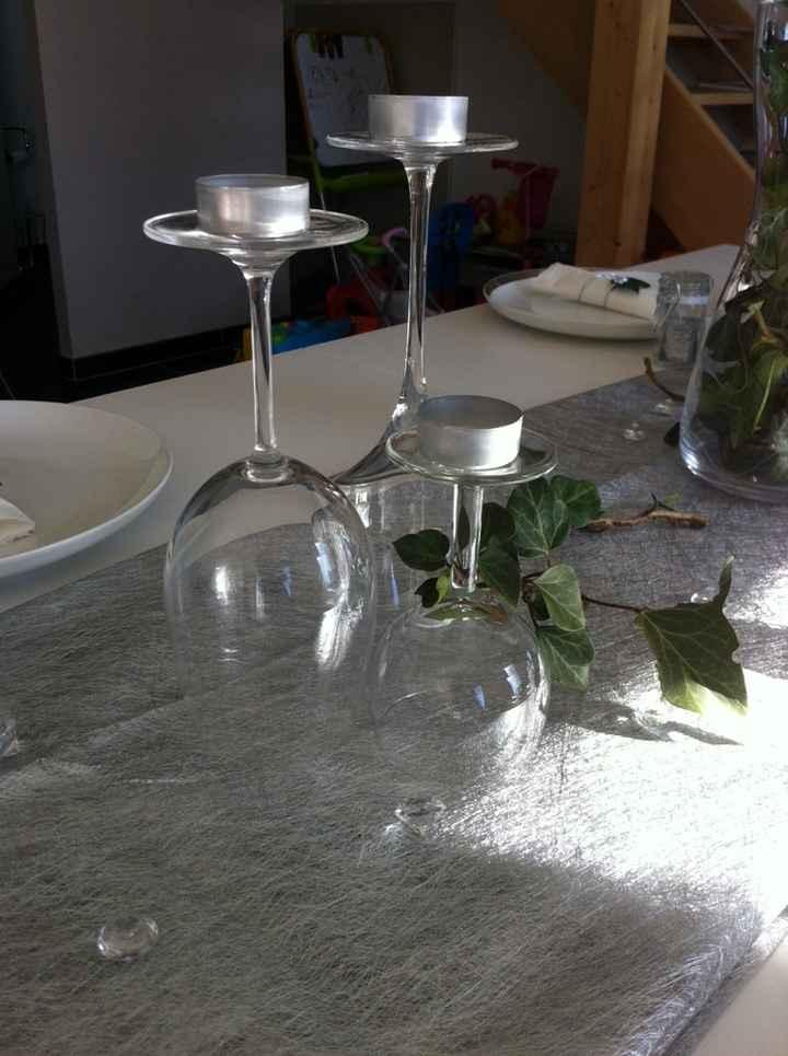 Essai de table thème forêt féerique - 3