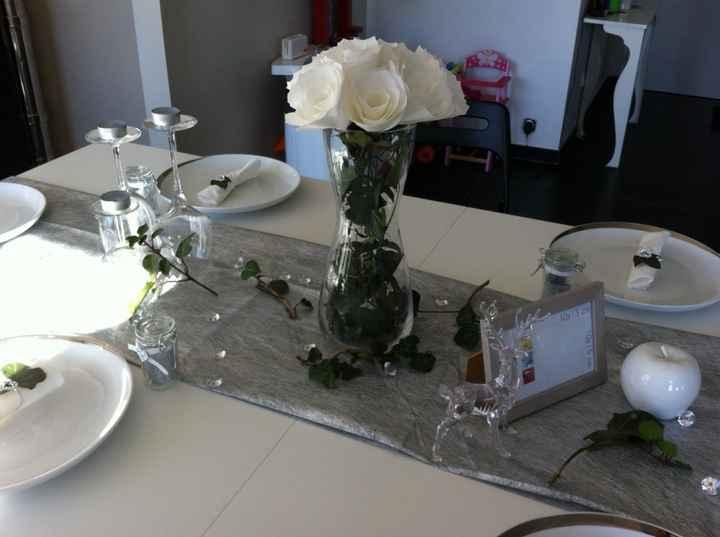 Essai de table thème forêt féerique - 5