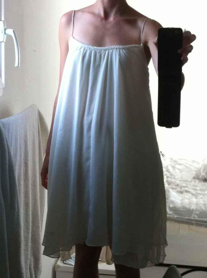 Quel robe porterez vous le lendemain du mariage? - 2
