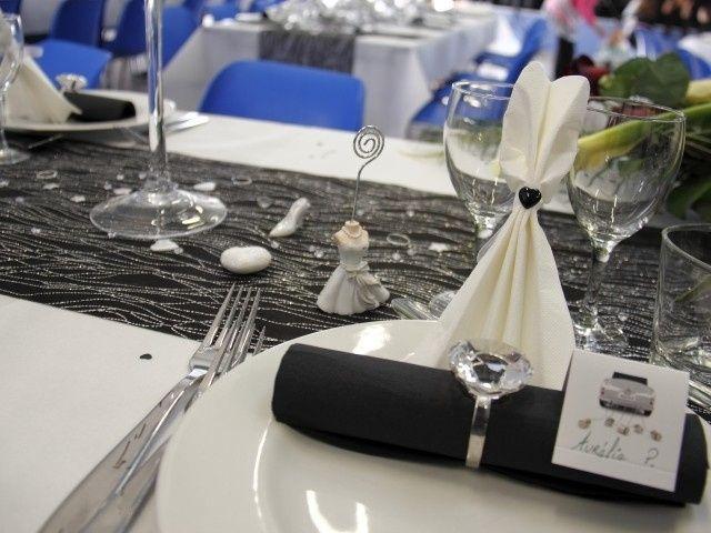 Deco Table Gris Et Blanc Et Noir Decoration Forum Mariages Net