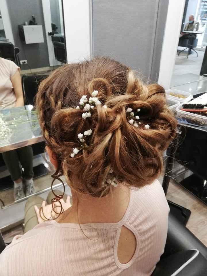 Essai maquillage et coiffure - 1