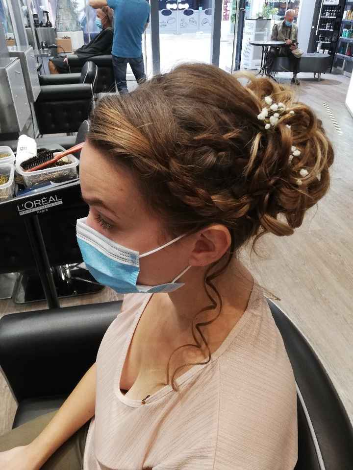 Essai maquillage et coiffure - 2