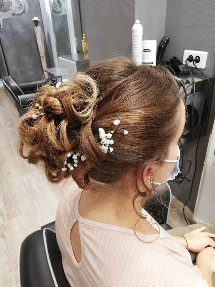 Essai maquillage et coiffure - 3