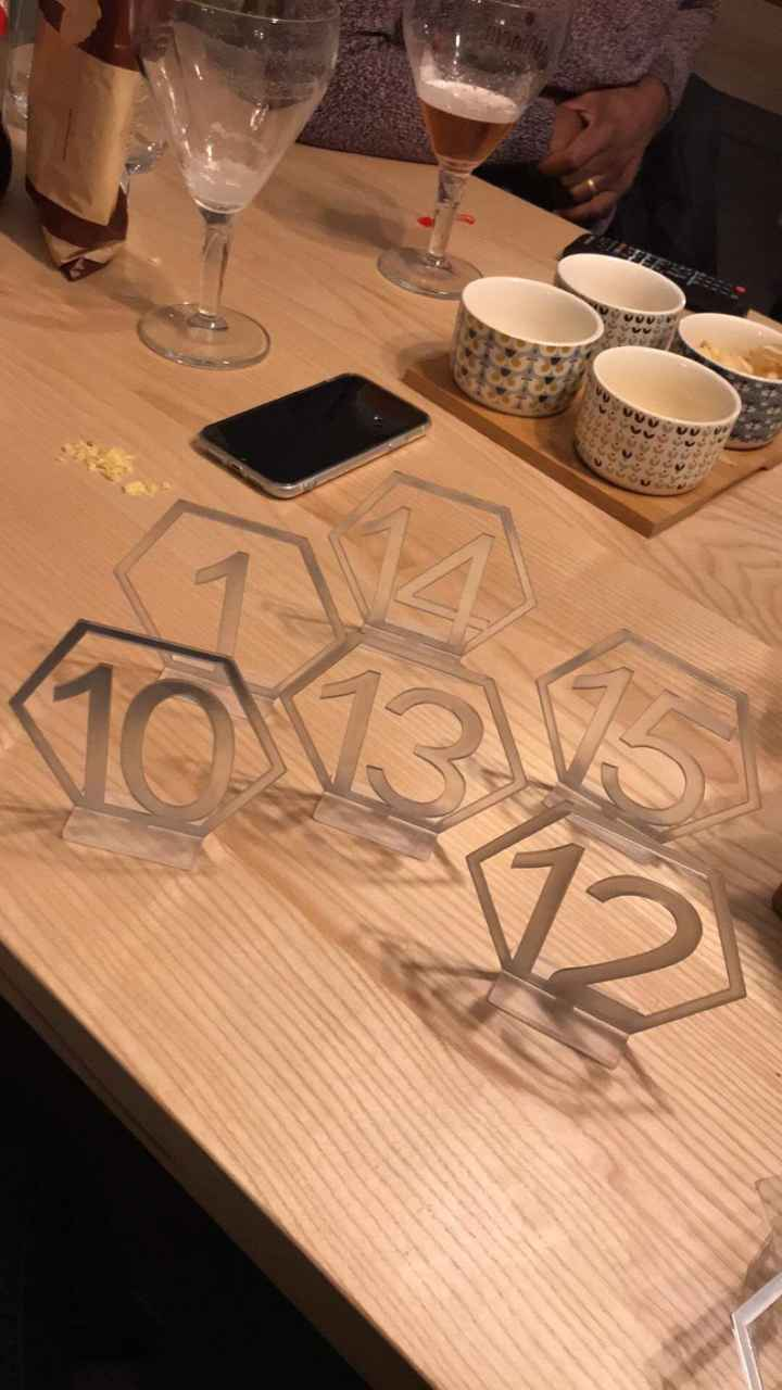 Mes numéros de tables aliexpress - 1