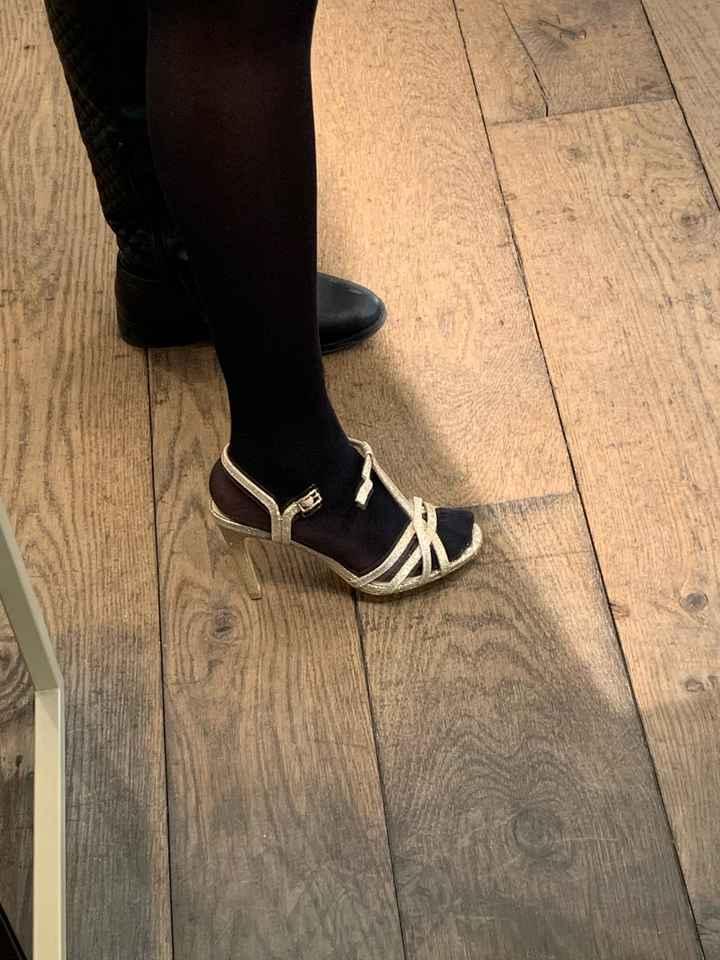 Changement de chaussures - 1