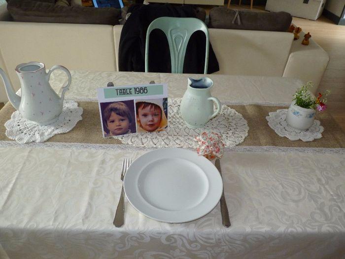 Décoration de tables 1