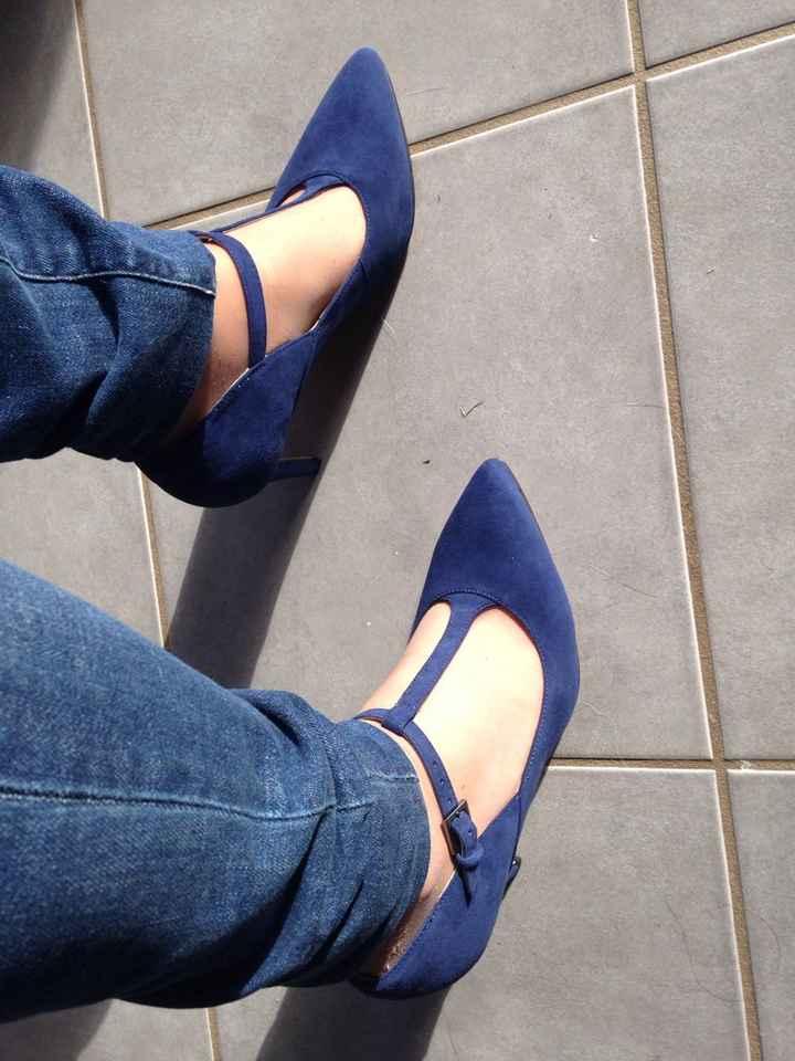 Diy décoloration et achat de chaussures - 6