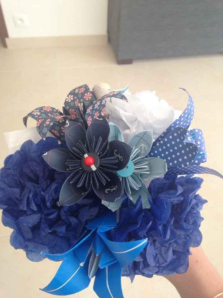 Mon bouquet origami et mes avancées j-42 - 3