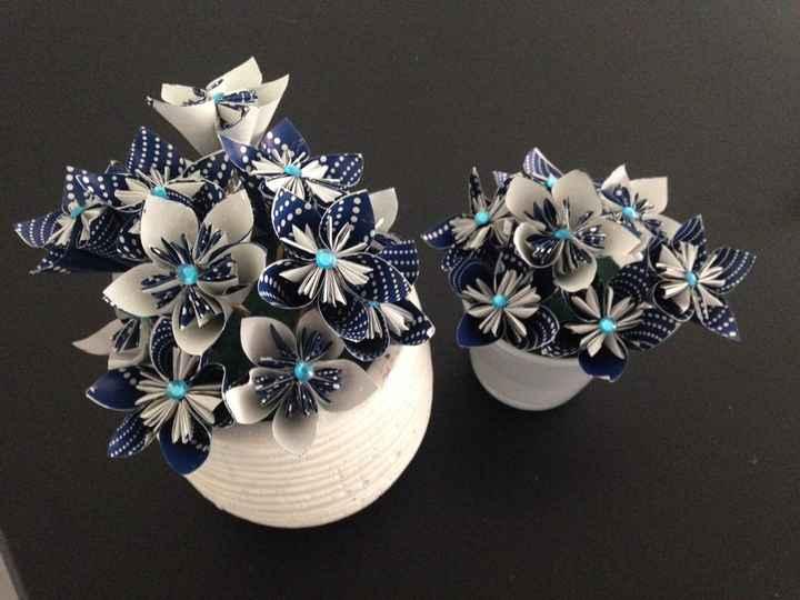 Mon bouquet origami et mes avancées j-42 - 5