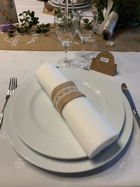 Decoration de tables - 1