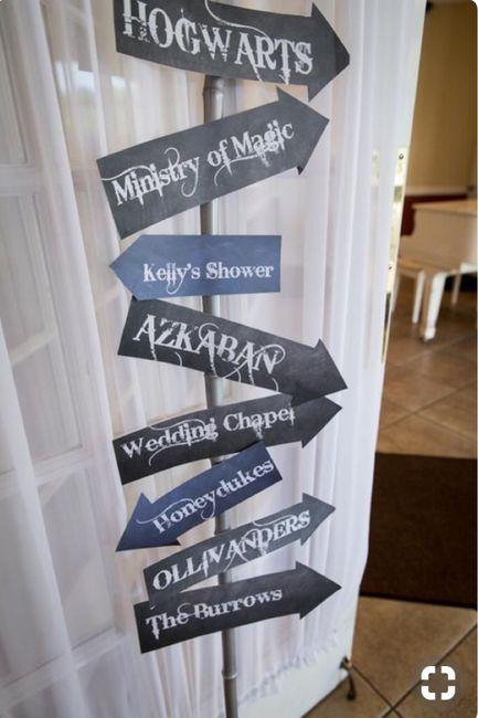 mariage harry potter d coration forum. Black Bedroom Furniture Sets. Home Design Ideas