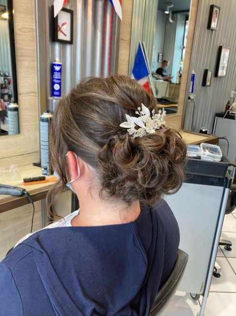 Essai coiffure validé 😊 - 1