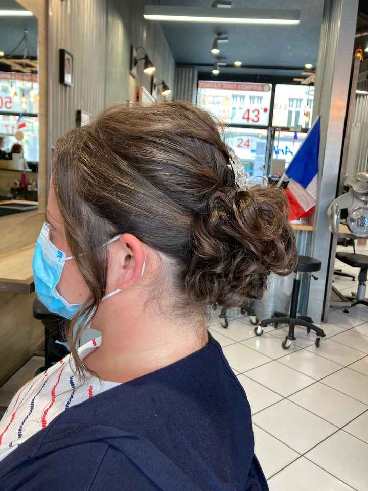 Essai coiffure validé 😊 - 2