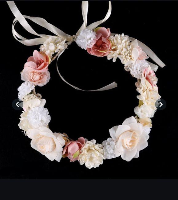 Couronne de fleurs ou bijou pour cheveu ? 🌸 2