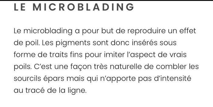 Microblading oui ou non? 1