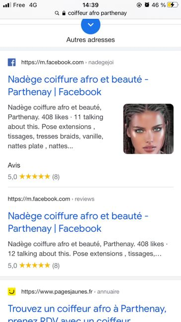 Coiffeuse afro 1