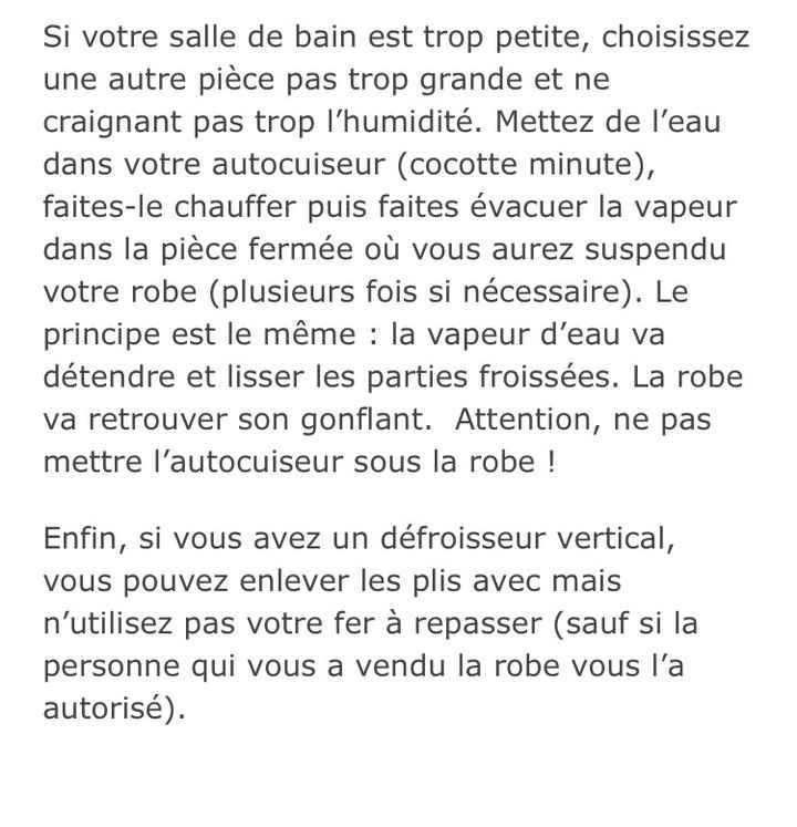 Robe froissée - 2