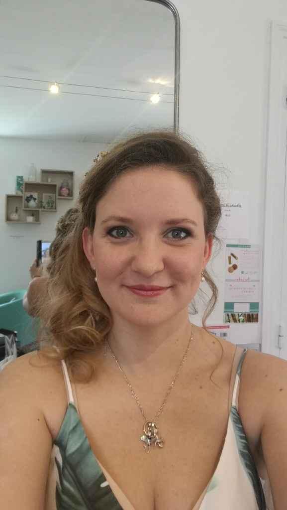 Mon essai coiffure/maquillage - 8