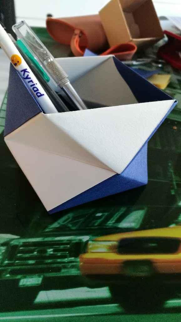 Mes pots à stylos - 1