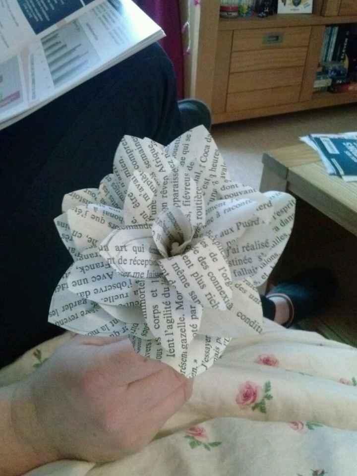 Bouquet en tissu - 1