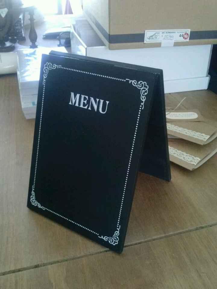 Pas d idée pour fabriquer mes menu ????!!!!! - 1