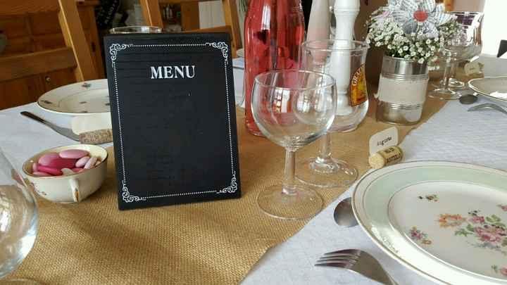 Ma déco de table diy vintage campagne - 4