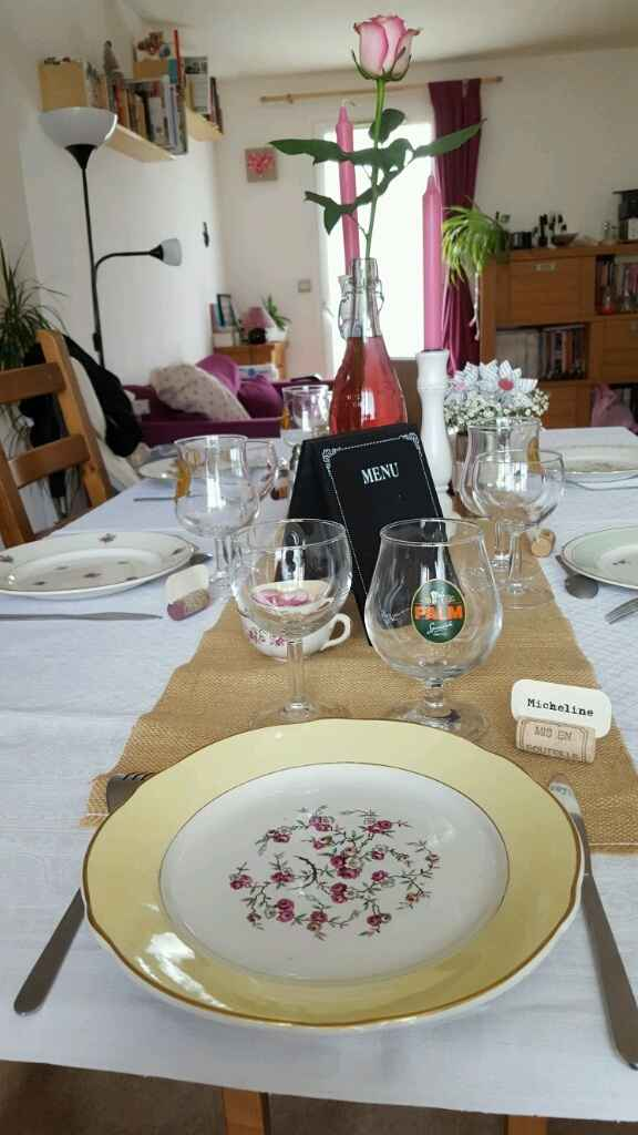Ma déco de table diy vintage campagne - 7