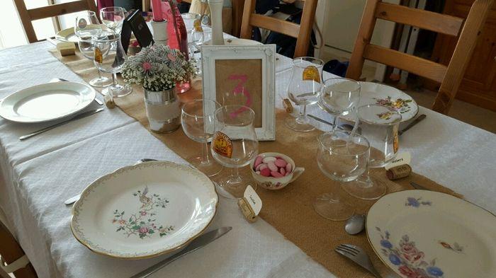Ma déco de table diy vintage campagne - 2