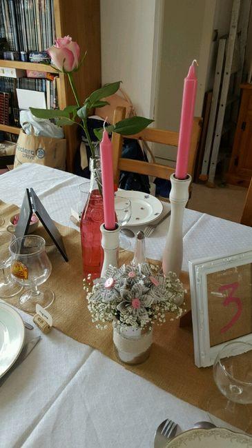 Ma déco de table diy vintage campagne - 8