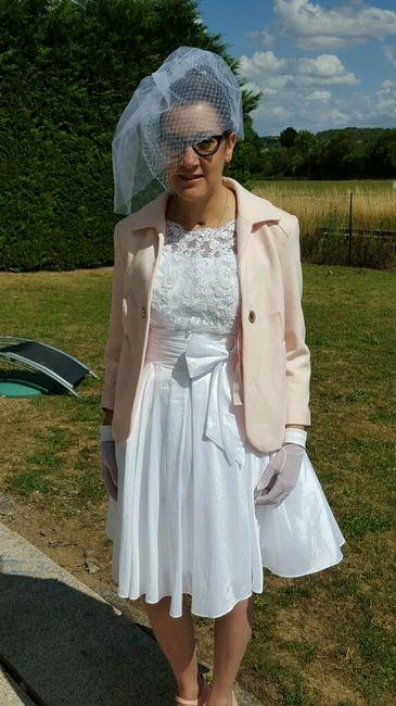Ma tenue vintage campagne chic , dernier essai ! - 7