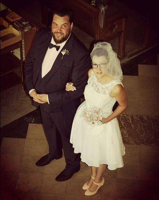 Notre mariage vintage 1ère photo ... - 1
