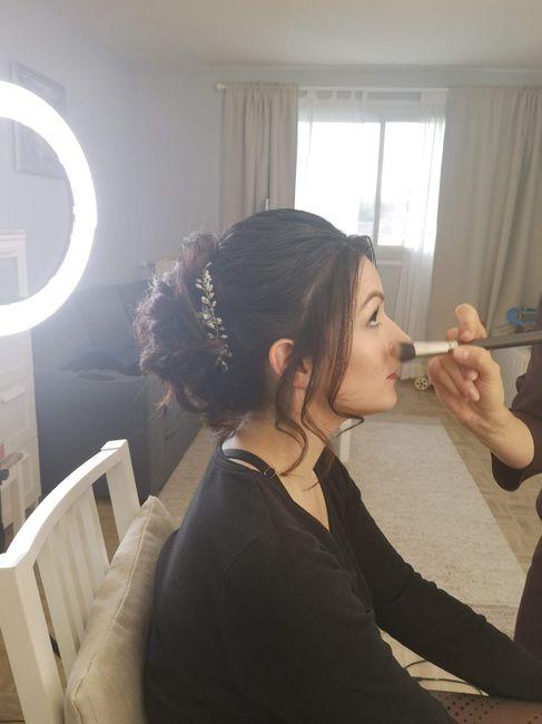 Essai Makeup et Coiffure 5