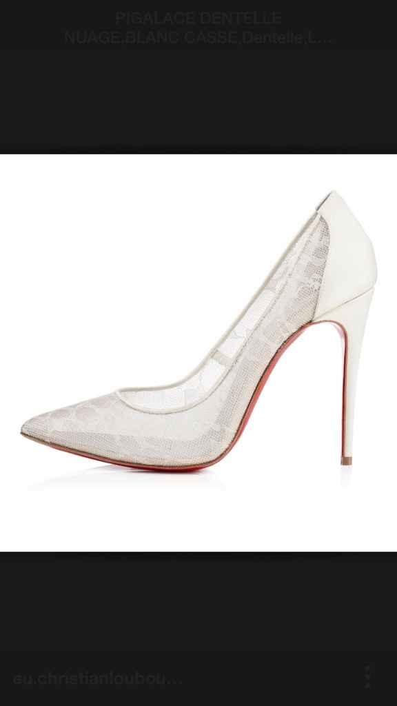 La chaussure de la mariée - 1