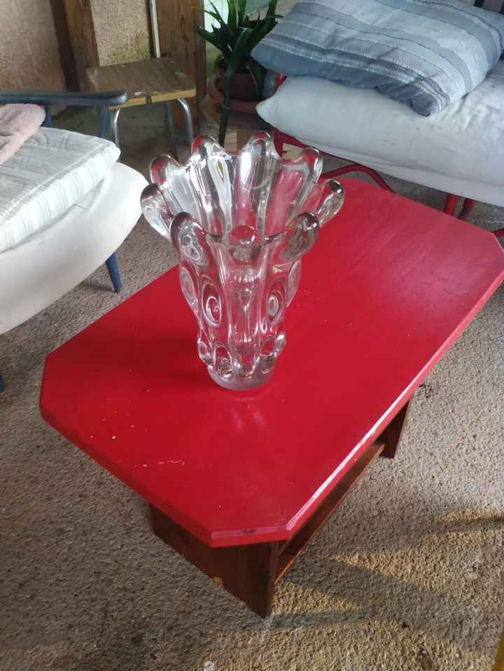 Vase cristal année 20