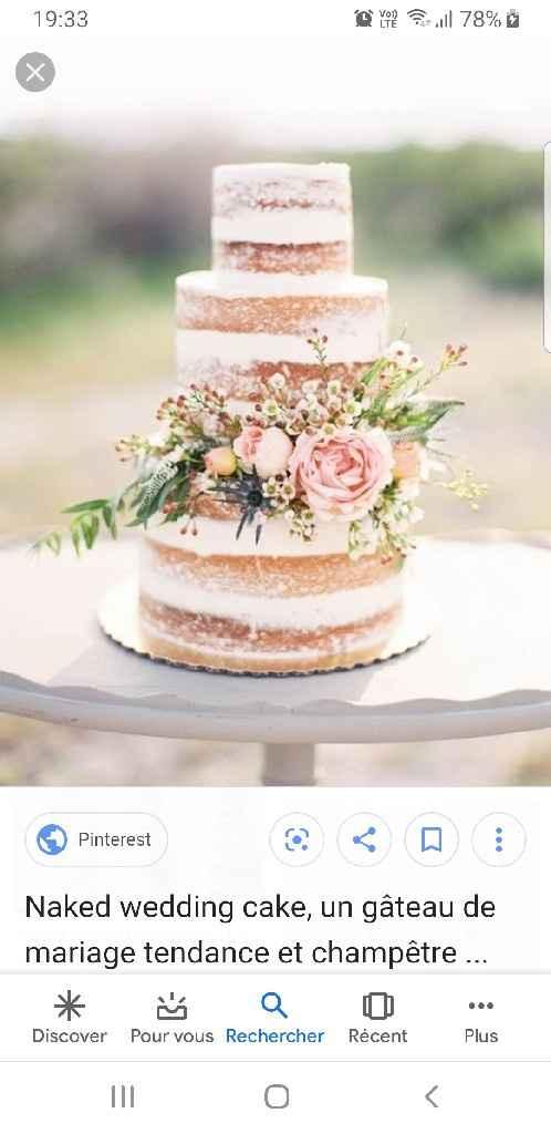 Naked cake - 1
