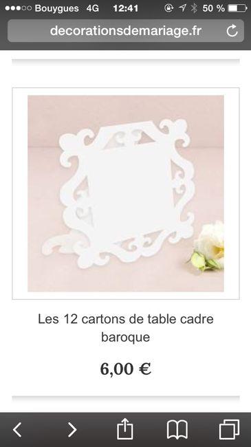 Petit cadre baroque blanc 2 photo d coration - Petit cadre photo baroque ...