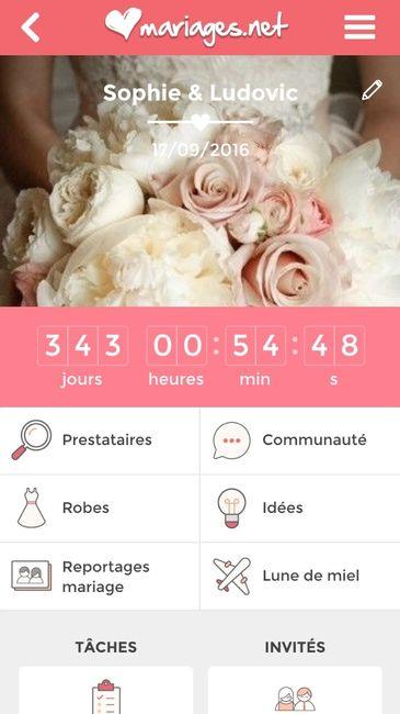 Compte rebours combien de temps vous reste t 39 il avant votre mariage 1 photo avant le - Compte a rebours mariage ...