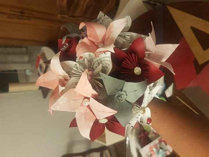 Bouquet pour le jeu du ruban - 1