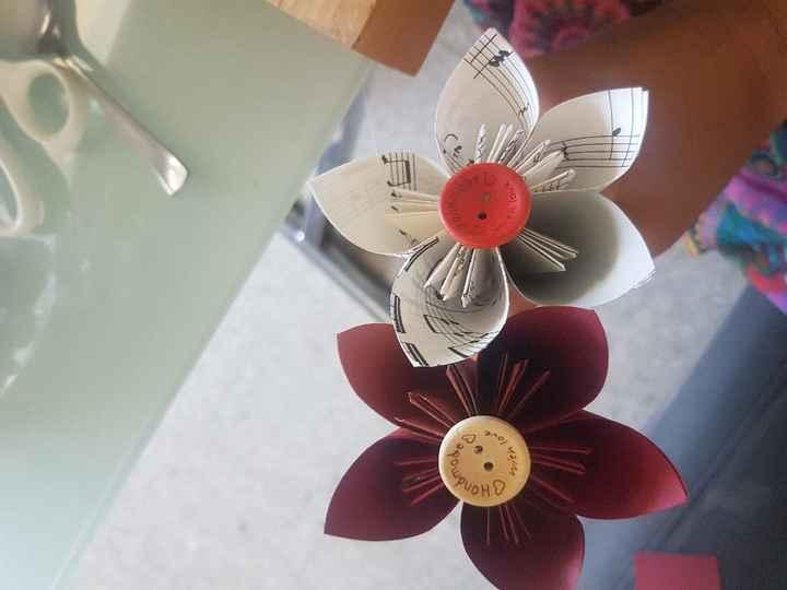 Bouquet pour le jeu du ruban - 3