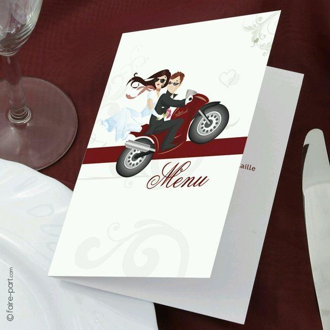 """Bien-aimé Mon mariage sur le thème """"moto"""" - Décoration - Forum Mariages.net DE57"""
