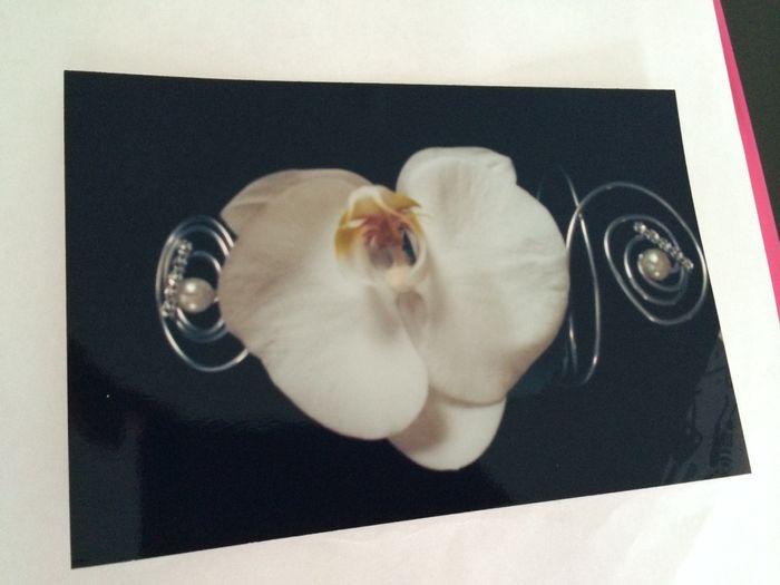 Bracelet de fleurs demoiselles d'honneur - 1