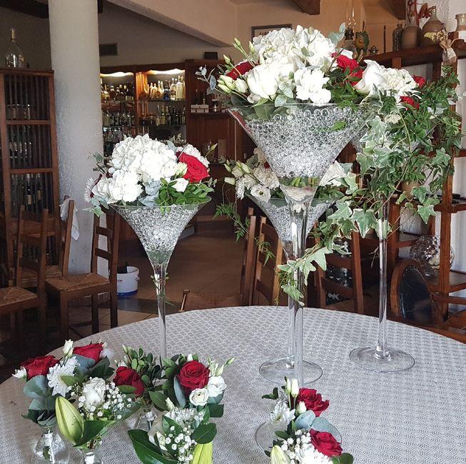 Plume vase martini 1