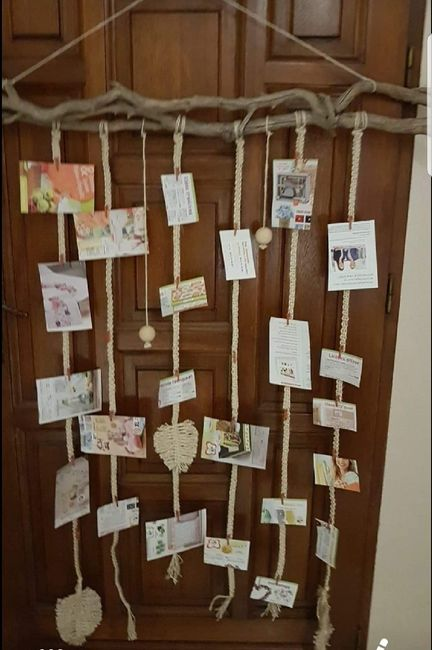 Porte photos en Macrame 1