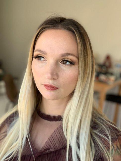 Essai Maquillage pour le Jour j 1