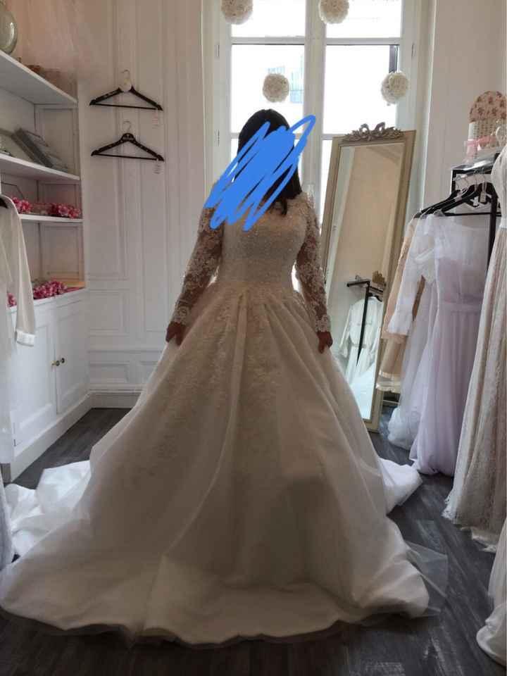 Coiffure avec robe sirène - 1