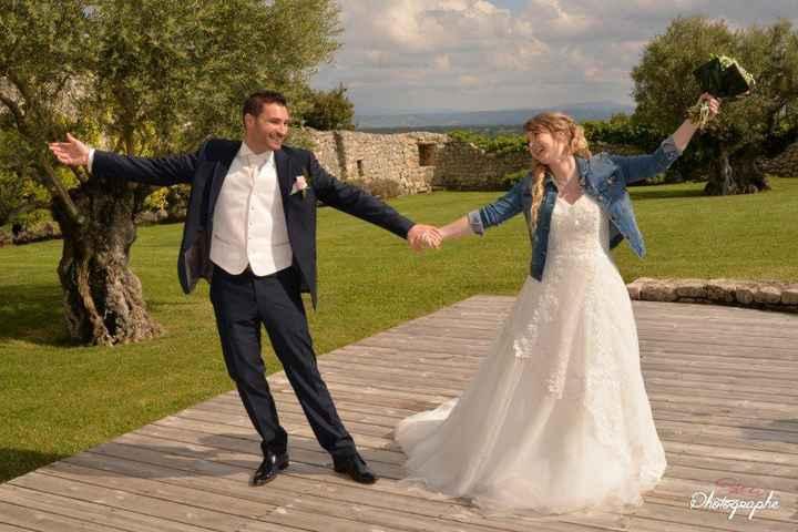 7 façons de porter sa robe de mariée pour tout déchirer ! - 1