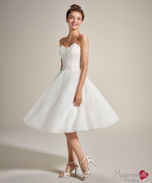 Duel: robe de mariée courte ou longue ? 1