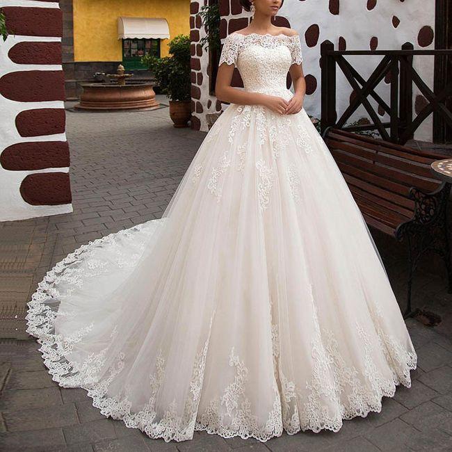Duel: robe de mariée courte ou longue ? 2