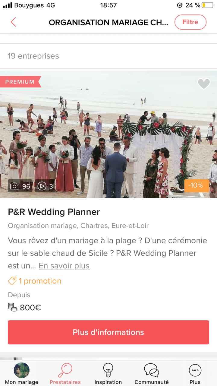 Wedding planner - 1